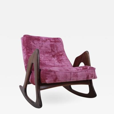 Adrian Pearsall Walnut Rocking Chair