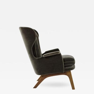 Adrian Pearsall Wingback Lounge Chair by Adrian Pearsall
