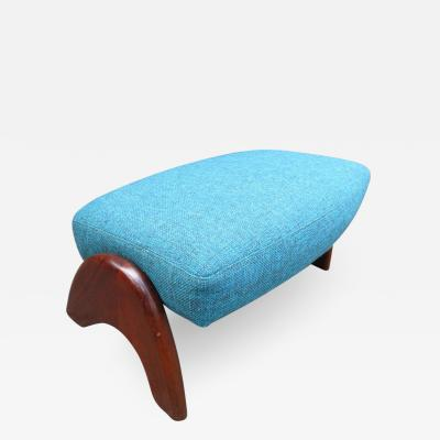 Adrian Pearsall Wonderful Adrian Pearsall Ottoman for Crescent Lounge Chair Mid Century Modern
