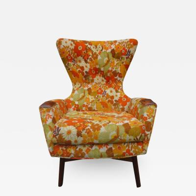 Adrian Pearsall Wonderful Adrian Pearsall Wing High Back Chair Craft Associates Model 2231 C