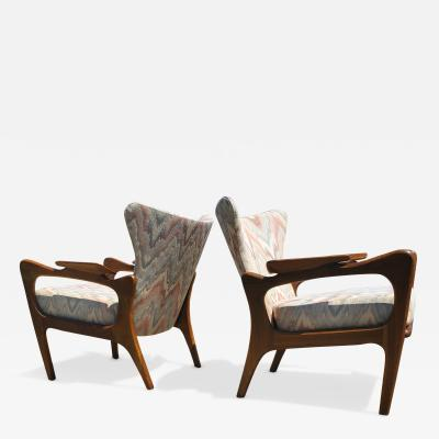 Adrian Pearsall for Craft Associates Lounge Chairs