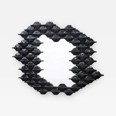 Adrien De Melo Ceramic Tiled Mirror by Adrien De Melo