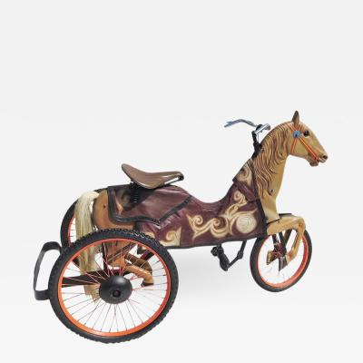Adult Size Carnival Horse Racing Bike