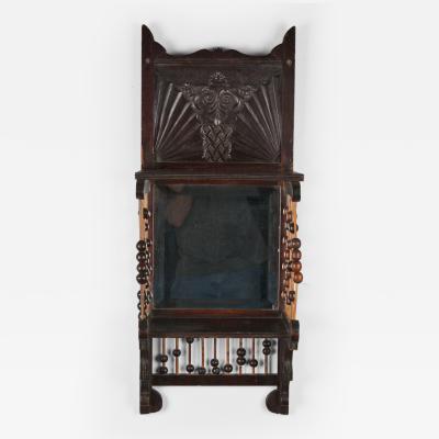 Aesthetic Mirrored Wall Shelf