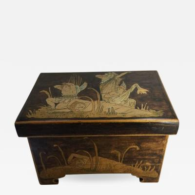 Aesthetic Movement Trinket Box circa 1900