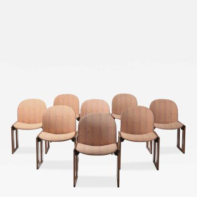 Afra Tobia Scarpa Afra Tobia Scarpa for Cassina Model 121 Wood and Walnut 1970s