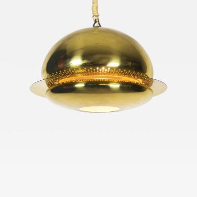 Afra Tobia Scarpa Brass Nictea Pendant Lamp for Flos 1961