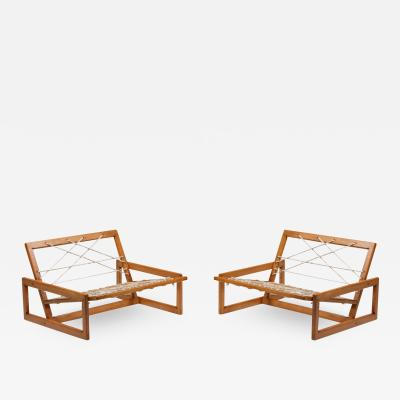 Afra Tobia Scarpa Cassina Carlotta Lounge Chairs by Afra and Tobia Scarpa 1960s