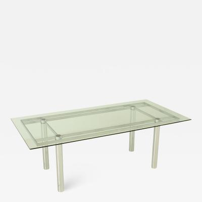 Afra Tobia Scarpa Rectangular Andr Dining Table by Afra and Tobia Scarpa for Gavina