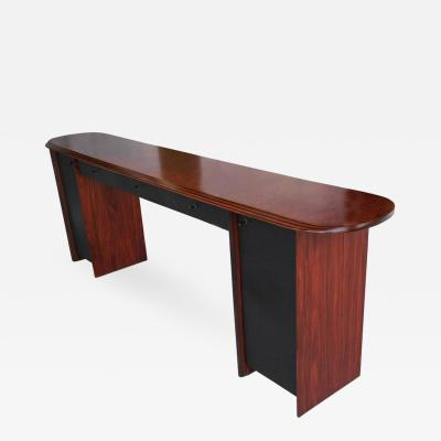 Afra Tobia Scarpa Rosewood Antona Console by Afra and Tobia Scarpa for B B