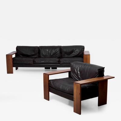 Afra Tobia Scarpa Set of Sofa and Lounge Chair by Afra Tobia Scarpa for Maxalto