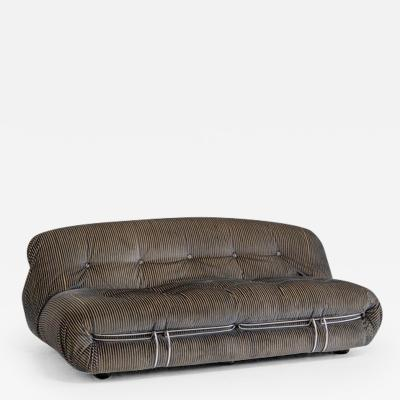 Afra Tobia Scarpa Soriana sofa by Afra and Tobias Scarpa for Cassina