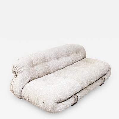 Afra Tobia Scarpa Two seater sofa by Afra and Tobia Scarpa for Cassina 1970s