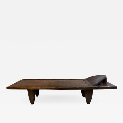 African Senufo Bed Bench from the Coite dIvoire