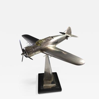 Airplane Breda 65 Italy World War Two Museum Model