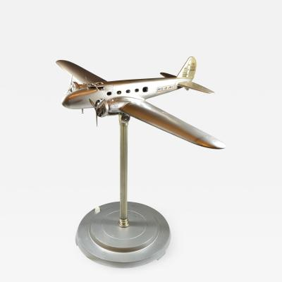 Airplane Desk Model Lamp Travel Agency Hotel Model Boeing 1933