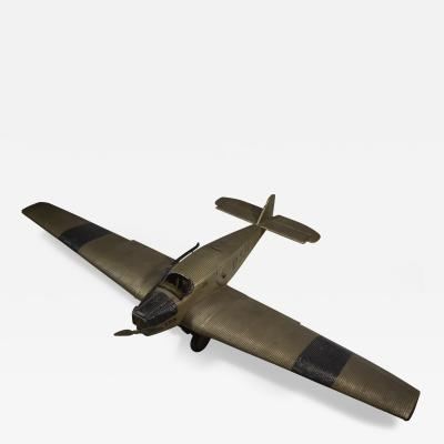 Airplane Manufacturers Scale Model of a Junkers W 34