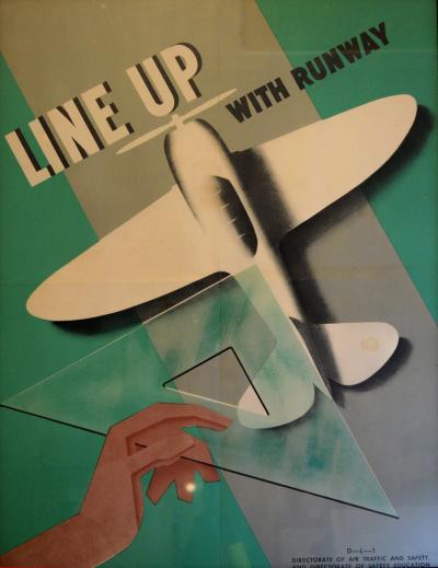 Airplane Posters Modernist Constructivist Design