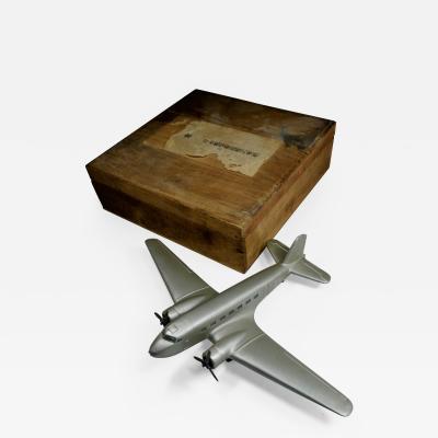 Airplane Trophy DC2 Japan Airmail Award Desk Model