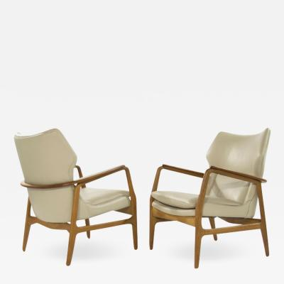 Aksel Bender Madsen Teak Lounge Chairs by Aksel Bender Madsen for Bovenkamp