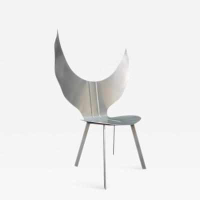 Al Jord o Contemporary Angel Chair from Cars Never Die Collection by Al Jord o Brazil