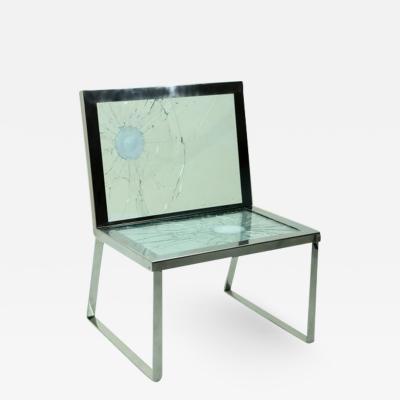 Al Jord o One of a kind Contemporary Bullet Chair by Brazilian Al Jord o