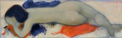 Alain Bonnefoit Alain Bonnefoit Sybille 1995 Oil on Canvas