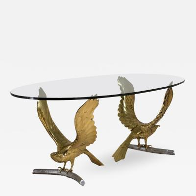 Alain Chervet Large Table Eagles by Alain Chervet circa 1980