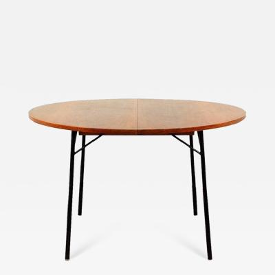 Alain Richard Rare French 1950s Extendable Rosewood Dining Table by Alain Richard