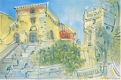 Alan Halliday Alan Halliday Capitoline Hill Rome 2020