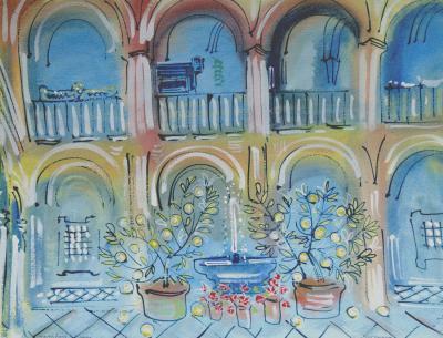 Alan Halliday Alan Halliday Courtyard in Carmona
