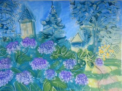 Alan Halliday Alan Halliday Hydrangeas at Jardin Boysleve