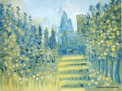 Alan Halliday Alan Halliday The Orchard Ch teau de Saint Loup sur Thouet