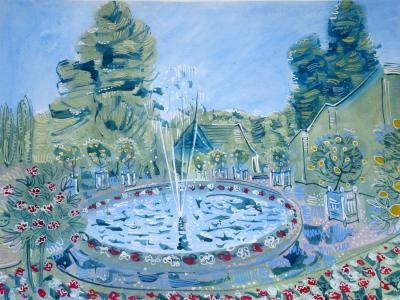 Alan Halliday Alan Halliday The Round Pond Chateau dUss