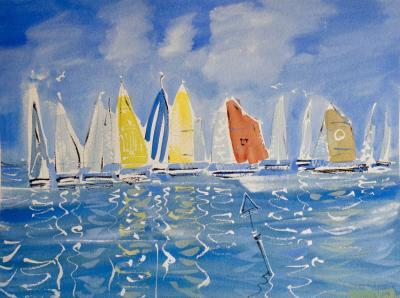 Alan Halliday Alan Halliday Yachts at Cowes 2018
