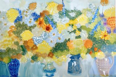 Alan Halliday Summer Flowers