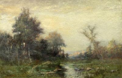 Albert Babb Insley Meadow Stream