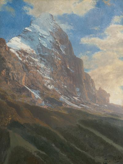Albert Bierstadt A Snow Covered Peak