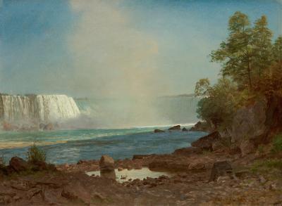 Albert Bierstadt Niagara Falls