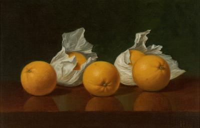 Albert Francis King Wrapped Oranges