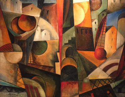 Albert Gleizes Paysage Cubiste