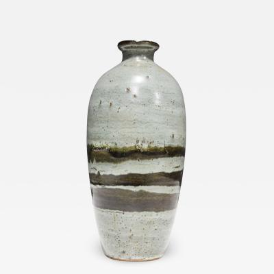 Albert Green Large Rounded Ceramic Vase by Albert Green 1914 1994