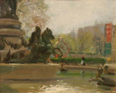 Albert Jean Adolphe Parisian Fountain