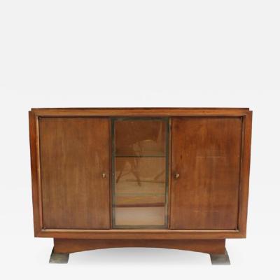 Albert Lucien Guenot Fine French Art Deco Mahogany Buffet by Albert Guenot for Pomone