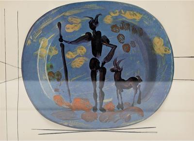 Albert Skira Print from C ramiques De Picasso