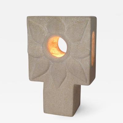 Albert Tormos Limestone Lamp by Albert Tormos
