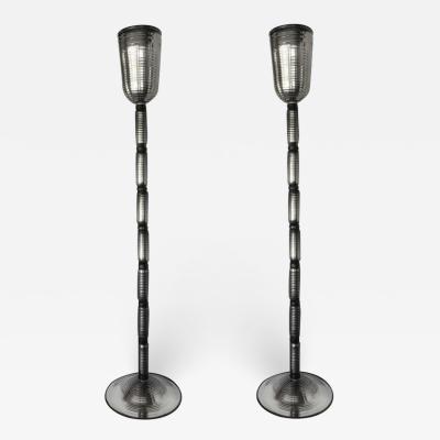Alberto Dona Pair of Mercury Floor Lamps