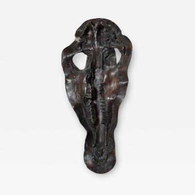 Alberto Giacometti Bronze Hippopotamus Head Skull Sculpture 1980s Modern Art Alberto Giacometti