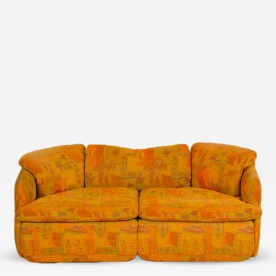 Alberto Rosselli Alberto Rosselli for Saporiti Confidential two seat sofa