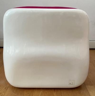 Alberto Rosselli JUMBO Lounge Chair by Alberto Rosselli for Saporiti